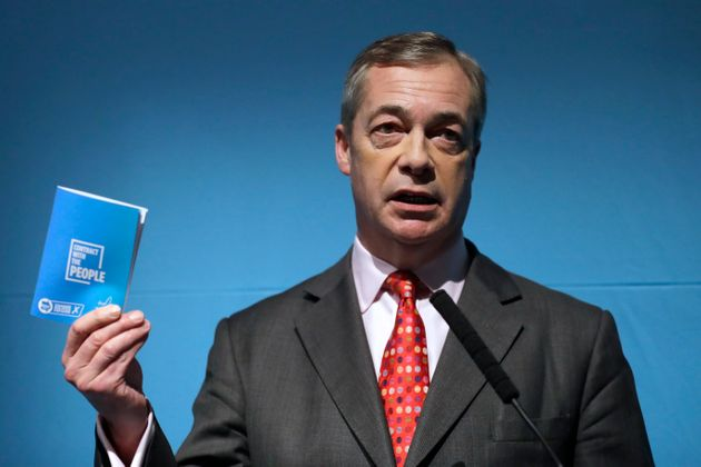 Nigel Farage Proposes Automatic Referendums If Five Million People Sign Petition
