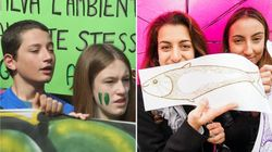 "PRIMO ABBOCCAMENTO - Appello di Fridays For Future alle Sardine: ""Scioperate con"