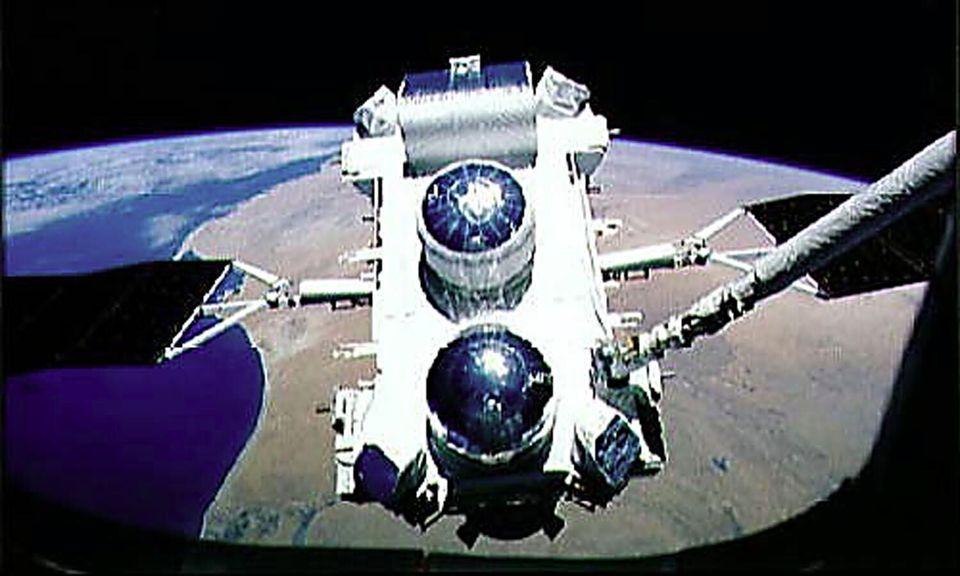 ο δορυφόρος-τηλεσκόπιο...