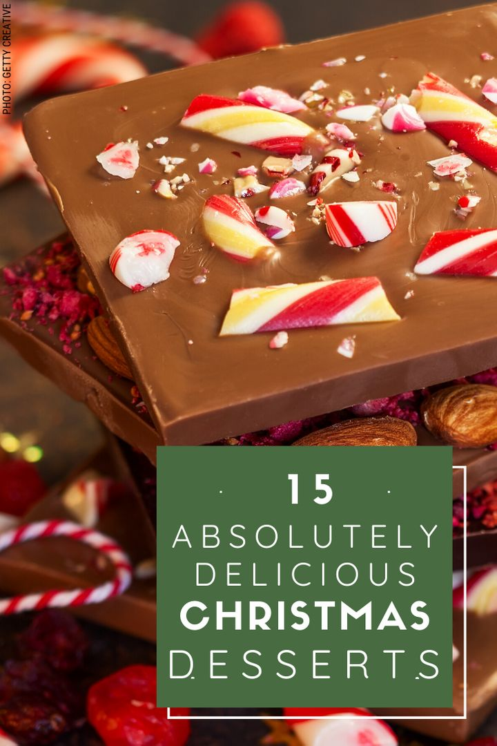 Christmas dessert recipes perfect for when you're brining a dish to a party.