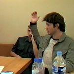 Les images de l'audition de Bertrand Cantat après la mort de Marie