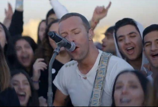 Οι Coldplay live στην