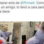 Primark responde a una clienta desconcertada por el peluche que encontró en una