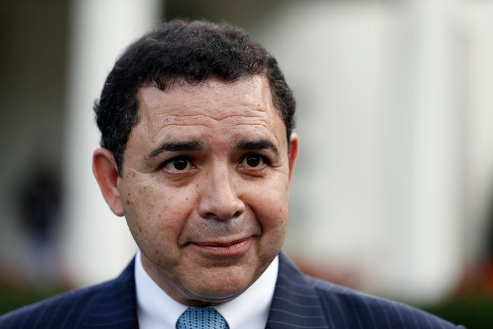 Rep. Henry Cuellar (D-Texas)has broken with Democratic Party orthodoxy on gun regulations, immigration enforcement and