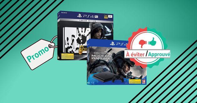 Pendant la Black Friday Week, les vraies et les fausses promos sur la PS4 de