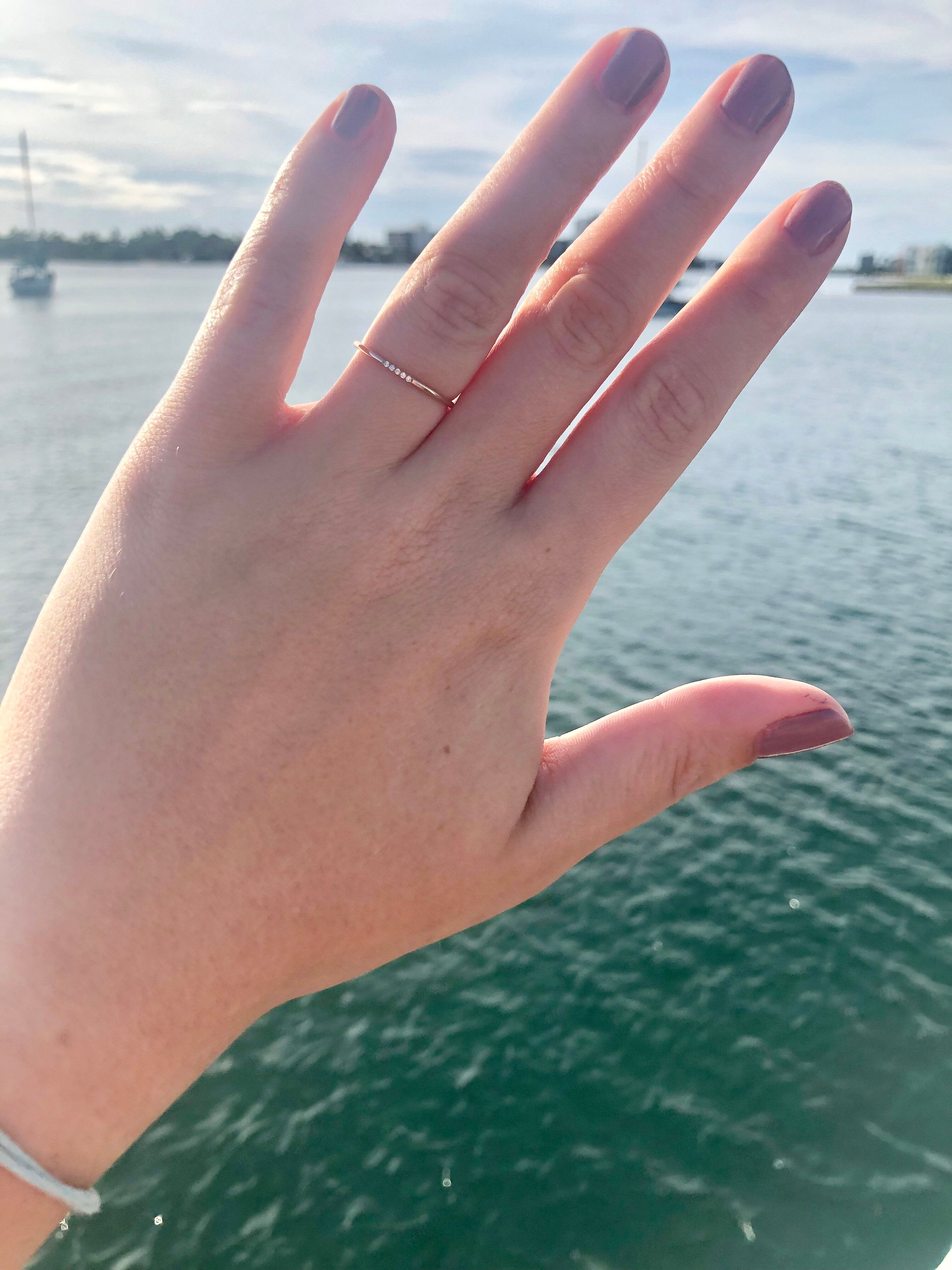 These Women Love Their Small Engagement Rings Whether You Do Or Not Huffpost Life