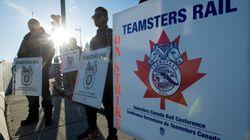 CN Rail Strike Could Mean 'Near Flattening Of Economic