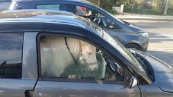 Le passager de cette voiture sans permis a surpris les