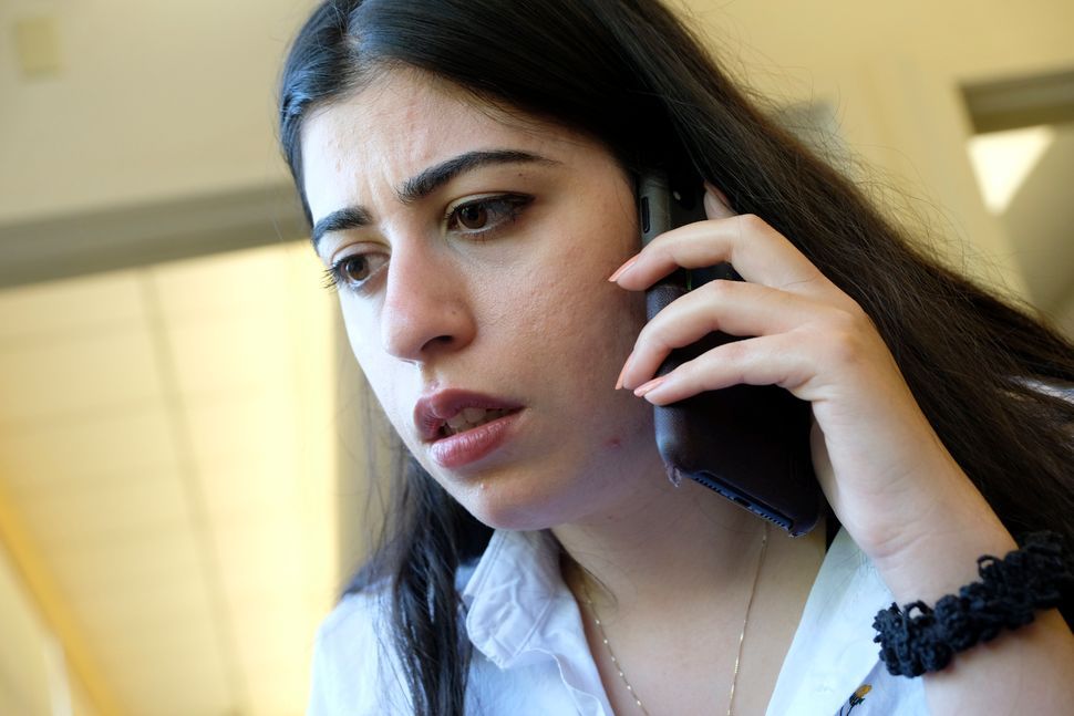 Sherin Zadah, 24, is a Kurdish American who has become politically active in the wake of President Trump's abrupt withd