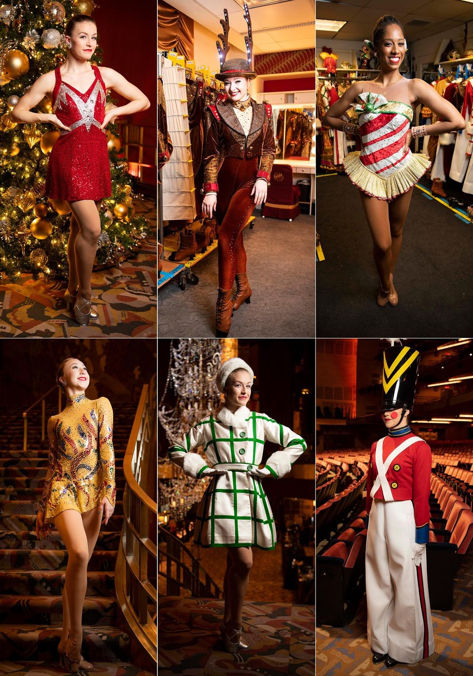 Rockettes Maddie Rodrigue, Shelby Finnie and Alicia Lundgren broke down their costumes, hair and makeup and more.