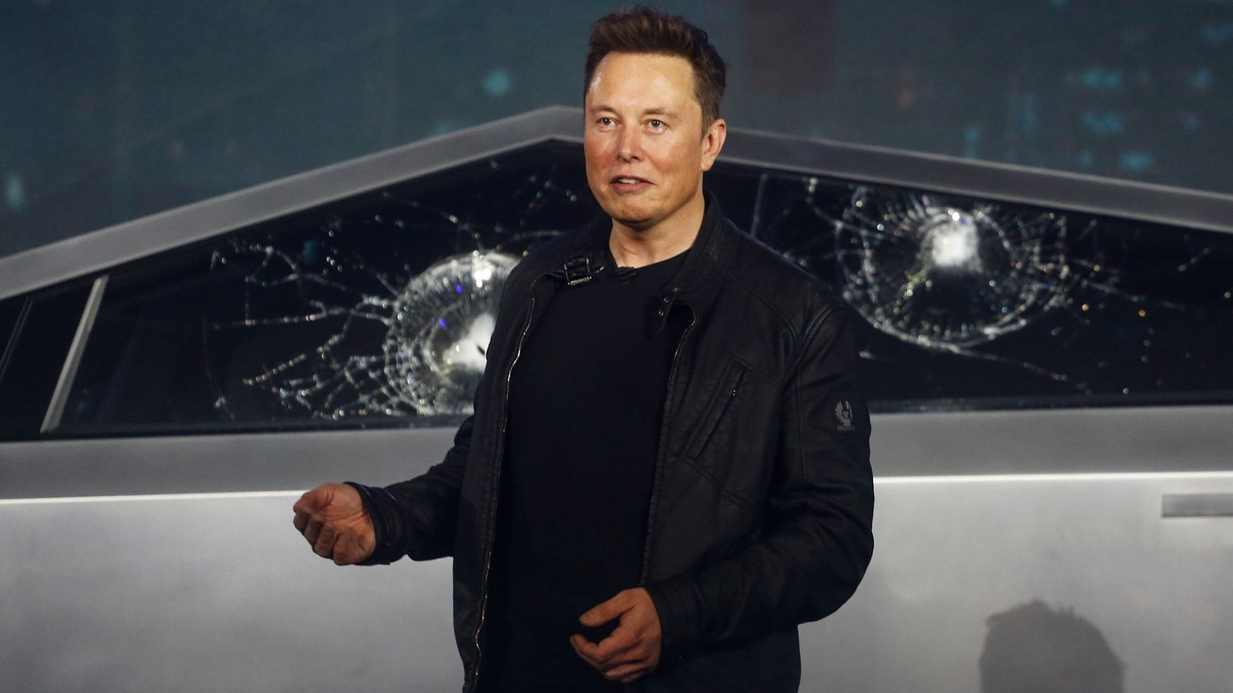'Oh My F**king God': Elon Musk Stunned As Windows Crack On His 'Bulletproof' Cybertruck