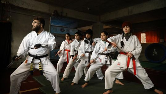 In Photos: Karate Is Changing The Lives Of Kashmir's Teenage