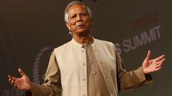 ノーベル平和賞のムハマド・ユヌスさん、吉本芸人の取り組みを賞賛