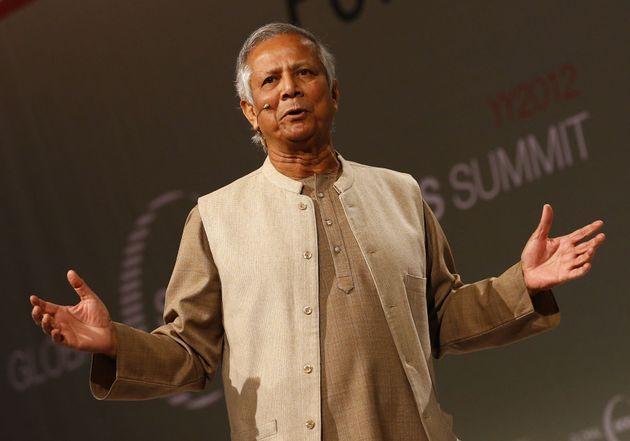 経済学者のムハマド・ユヌス博士