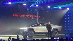 テスラ、EVトラック「Cybertruck」発表。頑丈ボディと割れない(はずの)ガラスを採用