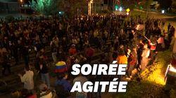 Des Colombiens bravent le couvre-feu devant la résidence du président
