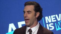 El actor Sacha Baron Cohen: