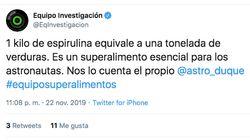 La respuesta de Pedro Duque a este tuit de 'Equipo de Investigación' (LaSexta) sobre