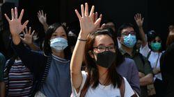한국에 사는 홍콩인들이 투표를 위해 고국으로 돌아가며 남긴