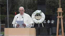 ローマ教皇、長崎で核兵器廃絶を訴える。軍拡を「神に背くテロ行為」と非難(スピーチ全文)