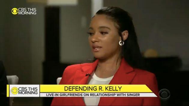 Joycelyn Savage, ici en mars sur CBS pour défendre R. Kelly, a écrit ce 23 novembre être...