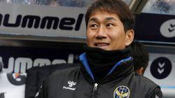 유상철 감독이 인천의 마지막 홈경기에서 '희망'을