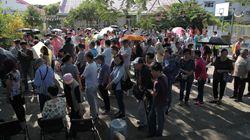 Mobilisation record pour les élections locale à Hong