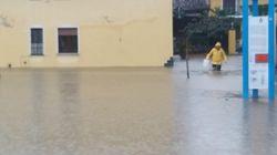Nel cuneese un paese è sott'acqua: emergenza grave a