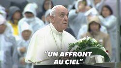 Le vibrant plaidoyer du pape François pour l'arrêt de la dissuasion