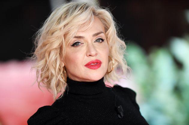 MILAN, ITALY - NOVEMBER 10: Paola Barale attends Che Tempo Che Fa TV Show on November 10, 2019 in Milan,...