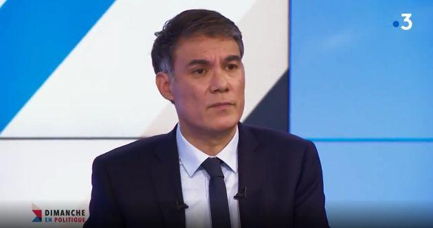 Olivier Faure sur le plateau de France 3 dimanche 24