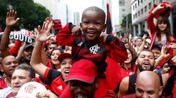 Veja as melhores fotos do incrível título do Flamengo na Libertadores da