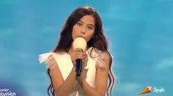 Así ha sido la actuación de Melani, que ha emocionado a todos con su canción en Eurovisión