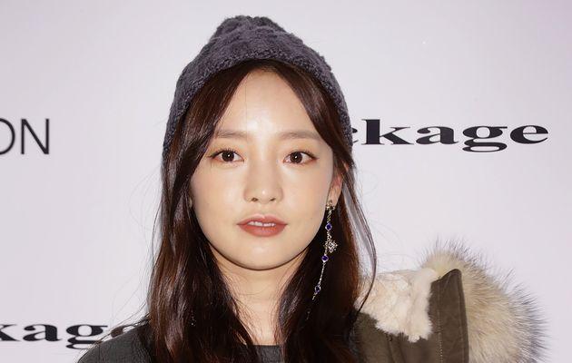 Goo Hara, en 2017, quand elle était encore membre du groupe Kara, l'un des plus connu de la