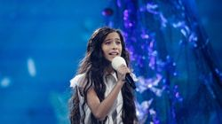 Melani, tercera clasificada en Eurovisión Junior en representación de