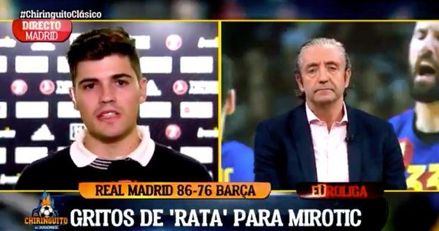 Nico Rodríguez y Josep Pedrerol en 'El