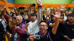 Hong Kong Democrats Score Landslide Victory In Local Elections Amid Political