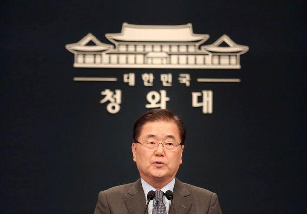 (자료사진) 정의용 청와대