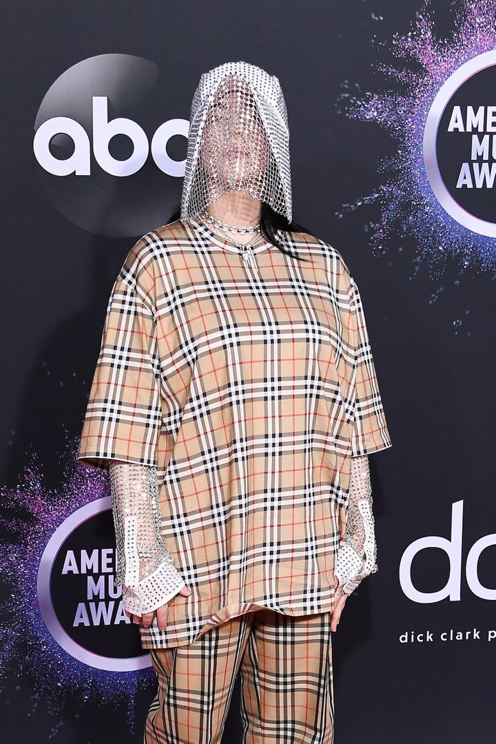 Billie Eilish at the 2019 American Music Awards.