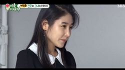 김건모의 프로포즈가 방송을 통해 살짝