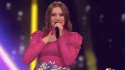 La Française Carla termine 5e à l'Eurovision