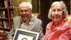 """ギネス認定""""世界最年長カップル""""が語る、長寿とハッピーな結婚の秘訣"""