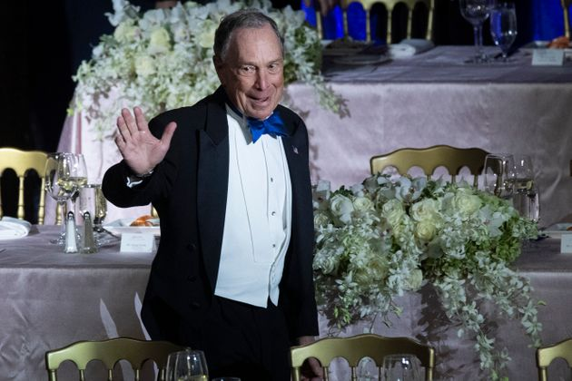 Michael Bloomberg, Founder of Bloomberg LP and Bloomberg Philanthropies, arrives for the 74th Annual...