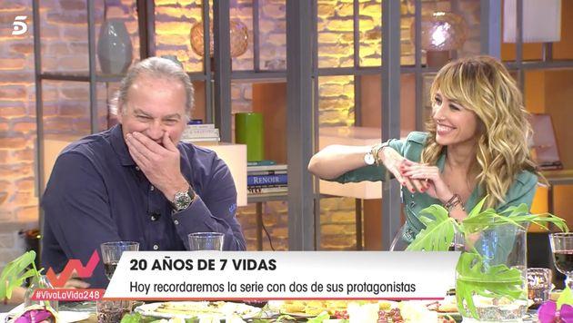 Emma García y Bertín Osborne, en 'Viva la
