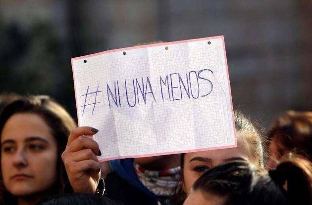 Imagen de archivo de una concentración en Alicante contra la violencia