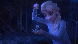 '겨울왕국2'의 삭제 장면으로 추정한 또 다른 버전의