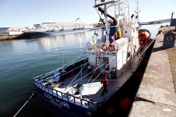 El buque de rescate Aita