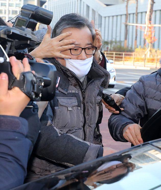 법원은 '별장 성접대 영상' 속 남성이 김학의가 맞다고
