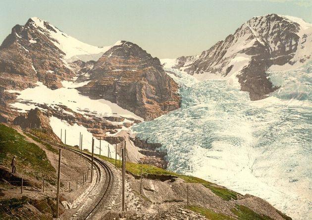 Οι παγετώνες Eiger, Guggi και...
