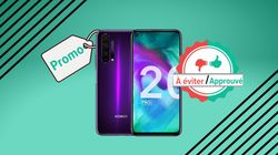 Le Honor 20 Pro en promo à 400 euros, on valide ou